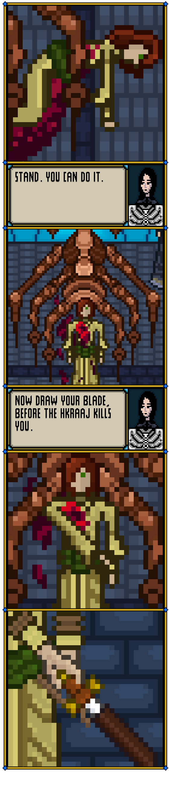 Draw Your Blade