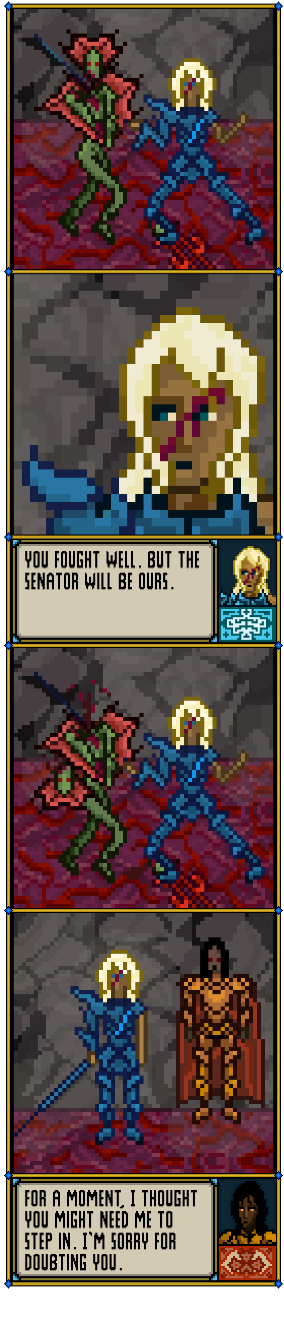The Senator Will Be Ours